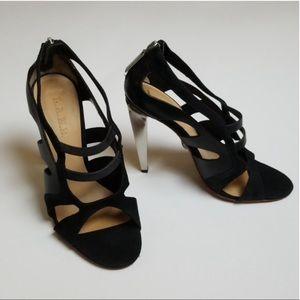"L.A.M.B 4.5"" high heels size 8.5"